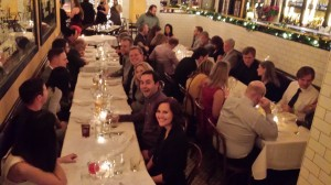 A night of great company and food was enjoyed by all, as Geofirma celebrated their Christmas party at The Savoy Brasserie.